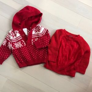 Other - Baby knit sweaters 3-6M
